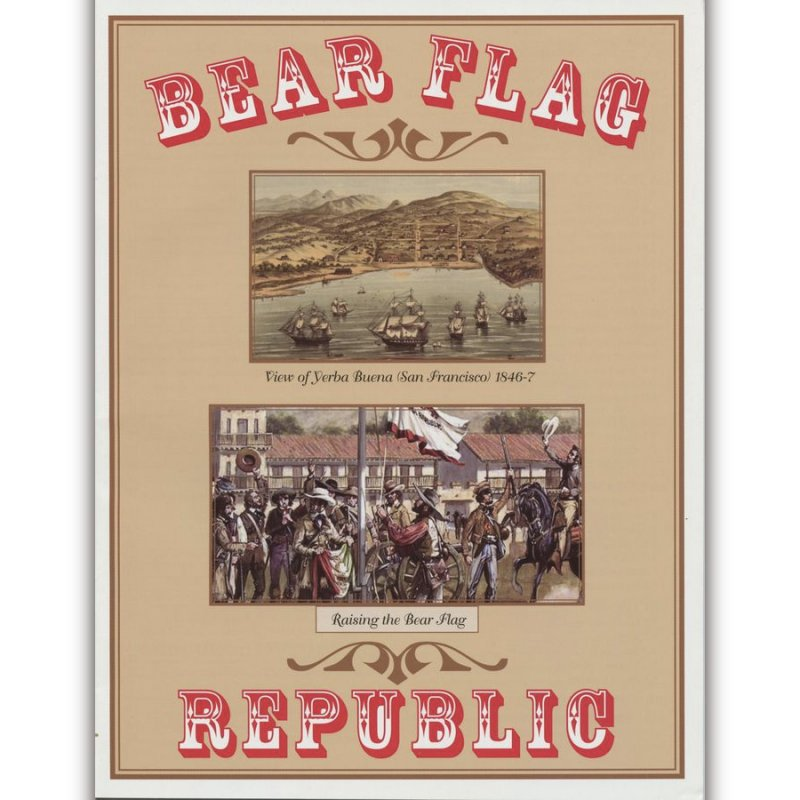 Bear Flag Republic(カリフォルニア共和国)