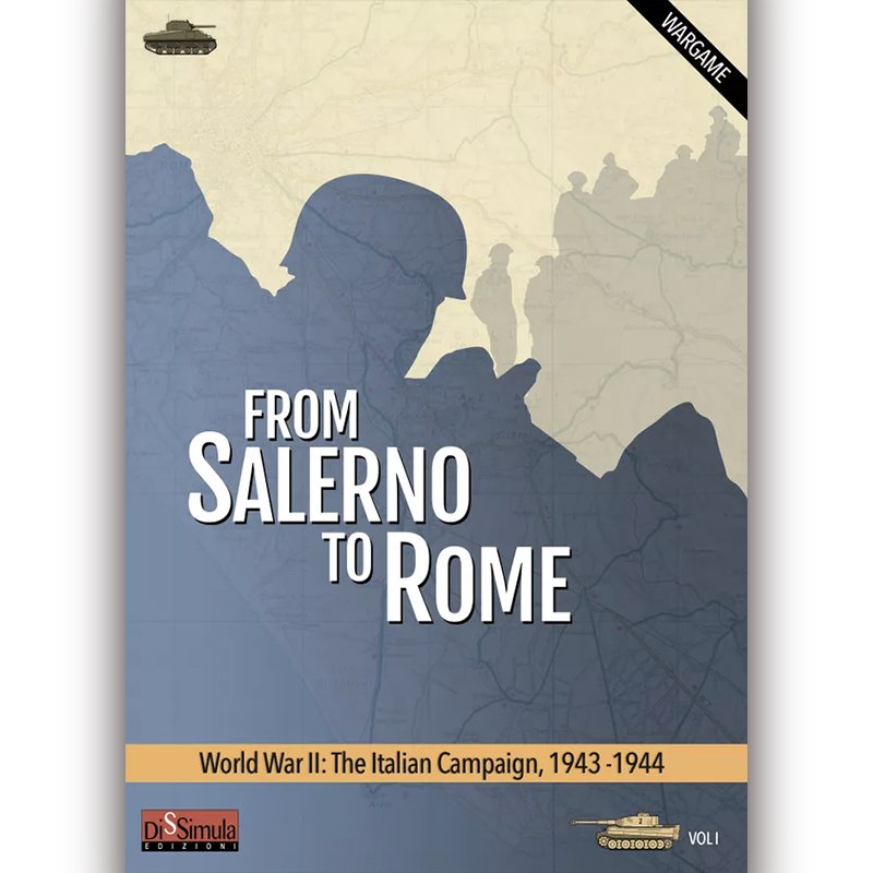 From Salerno to Rome(イタリア戦役)