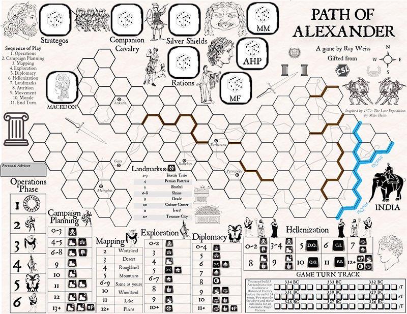 Path of Alexander(アレクサンダー大王の道)