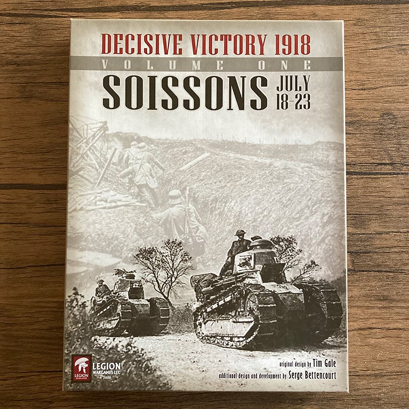 <img class='new_mark_img1' src='https://img.shop-pro.jp/img/new/icons15.gif' style='border:none;display:inline;margin:0px;padding:0px;width:auto;' />Decisive Victory 1918: Soissons(ソワソンの戦い)