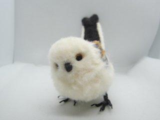 定番人気 羊毛フェルトリアル可愛いシマエナガ 野鳥 ゆこりん工房