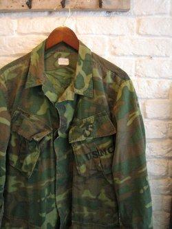 60's USMC Jungle Fatigue Jacket ERDL Camo