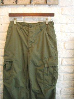 60's US Military Jungle Fatigue Pants Rip Stop