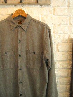 60's Old Kentucky Black Chambray Shirt