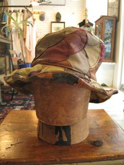 60-70's Leather Hat