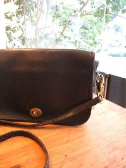 80's OLD COACH Leathe Shoulder Bag