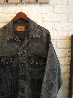 80's Levi's 70507 Black Denim Jacket