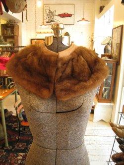 60's Mink Fur Tippet