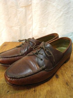 80-90's ORVIS Leather Moccasin