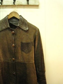 70's EAST WEST Leather Jacket