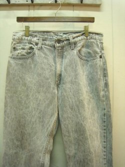 80's Levi's 506 Chemical Wash Jeans