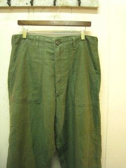 60-70's US ARMY Utility Pants Zip Type