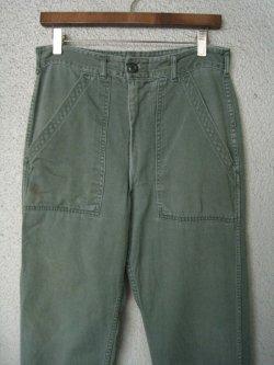 70's US ARMY Utility Pants Zip Type