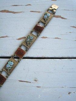 60's Enamel Bracelet