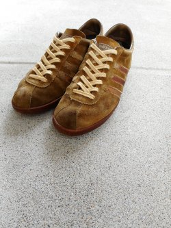 70's adidas TOBACCO MADE IN FRANCE