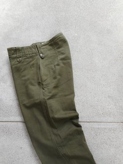 60's British Army Overall Green Trousers