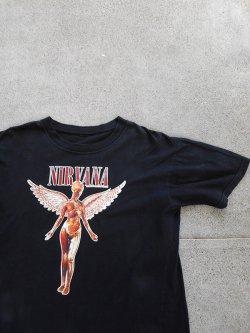 90's NIRVANA IN UTERO T-Shirt