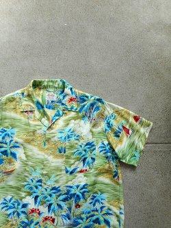 60's South Pacific Hawaiian Shirt