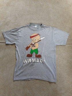 80's Looney Tunes WAMBO! Parody T-shirt