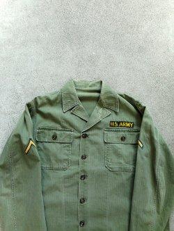 40-50's US ARMY M-47 HBT Utility Shirt