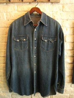 40-50's Denim Shirt