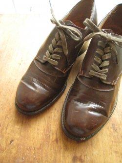 50's England Plane Toe Shoes