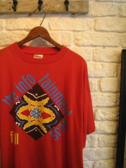 the fall The Infotainment Scan Tour Tee