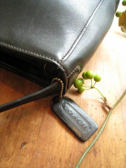 80's OLD COACH Leather Hand Bag