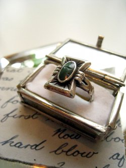 30's NAVAJO Indian Jewelry Ring