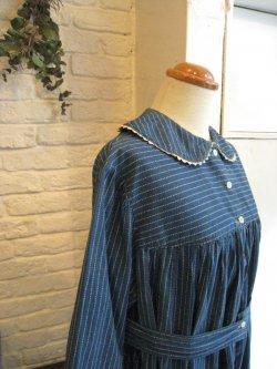 ~20's Wabash Stripe L/S Dress