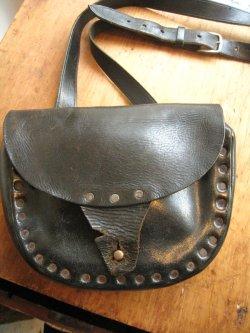40's England Leather Bag