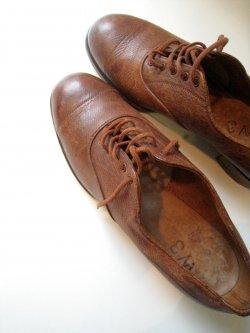 40's CC41 Cap Toe Leather Shoes