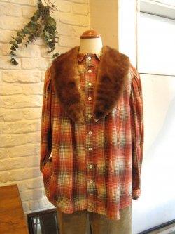 20-30's Flannel Blouse