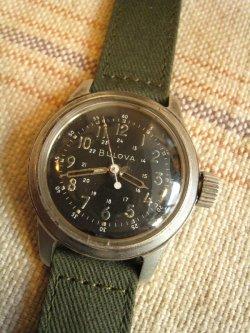 BULOVA USAF Pilot Watch TYPE A17A