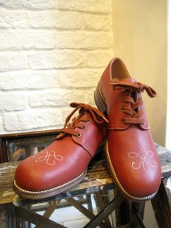 60's FLEET AIR SHOES Oxfords Shoes DeadStock
