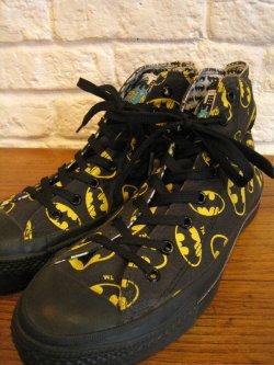 80's Converse All Star BAT MAN Dead Stock