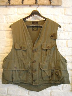 40-50's Abercrombie & Fitch Fishing Vest