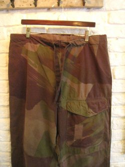 WWII British Army Windproof Camo Trousers