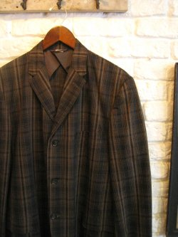 60's Check Tailored Jacket