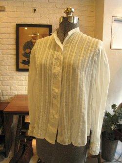 ~1940's Cotton Lawn White Blouse