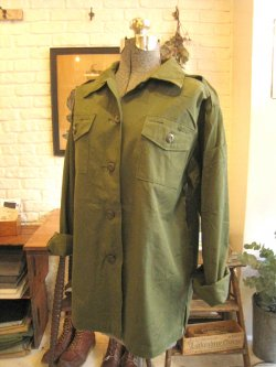 70's US Military Women's Utility Shirts Dead Stock