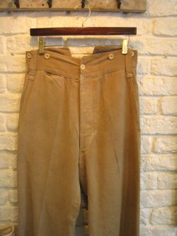~30's French Work Pants