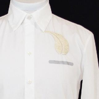 White Shirts Balloon-White