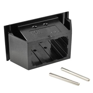 バッテリーコネクタアクセサリ <br>6極ハウジング(15A/30A)<br/>パネルマウントタイプ<br> 6BMCS-SET-L-E 2個入