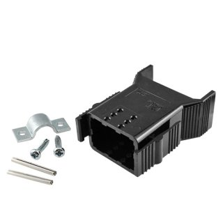 バッテリーコネクタアクセサリ <br>6極ハウジング(15A/30A)<br/>ロックタイプ <br>6BMCS-SET-R-E 2個入