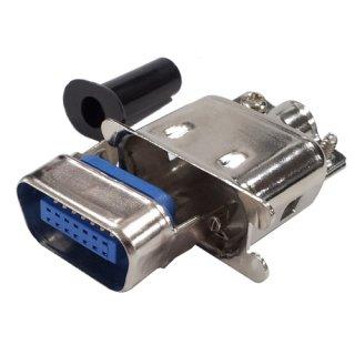 セントロニクスコネクタケーブル <br>フード付ストレートプラグ <br>JC57-30140-E 14芯