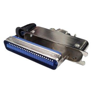 セントロニクスコネクタ <br>ケーブルフード付ストレートプラグ <br>JC57-30500-E 50芯
