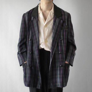 OLD check edward jacket
