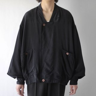 OLD deformed silk jacket