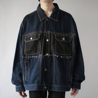 REMAKE custom trucker jacket